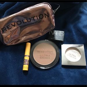 Makeup Revolution Mini-Bundle w/ NARS Sample blush